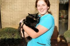Debbie and Luigi - veterinary assistant surgical tech